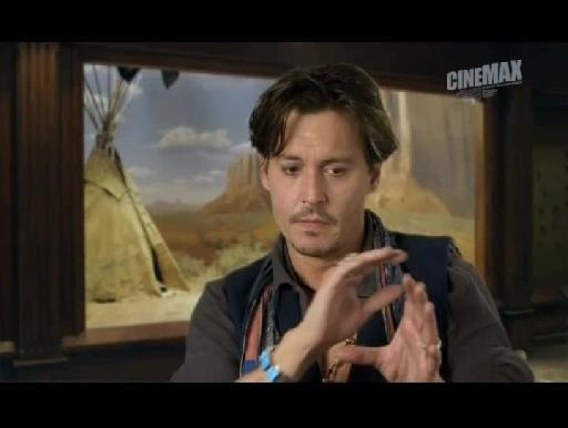 Johnny Depp sobre O Mascarilha