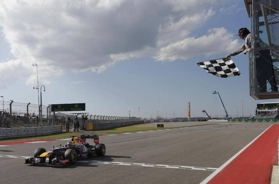 Vettel, Touro no Texas