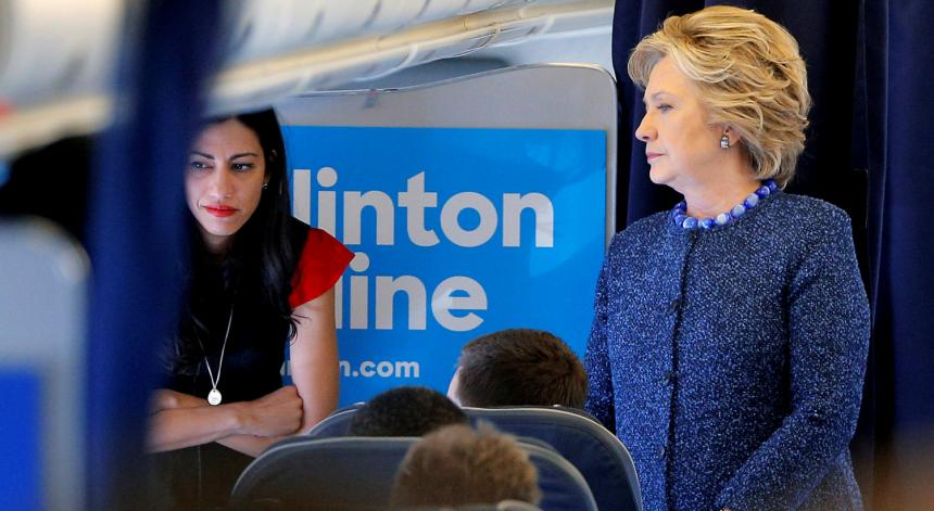 Image result for Hillary huma