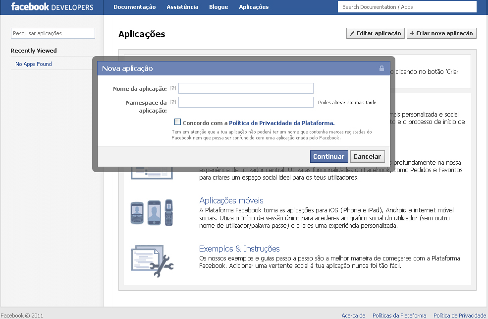 Novo perfil do Facebook: passos 5, 6, 7 e 8