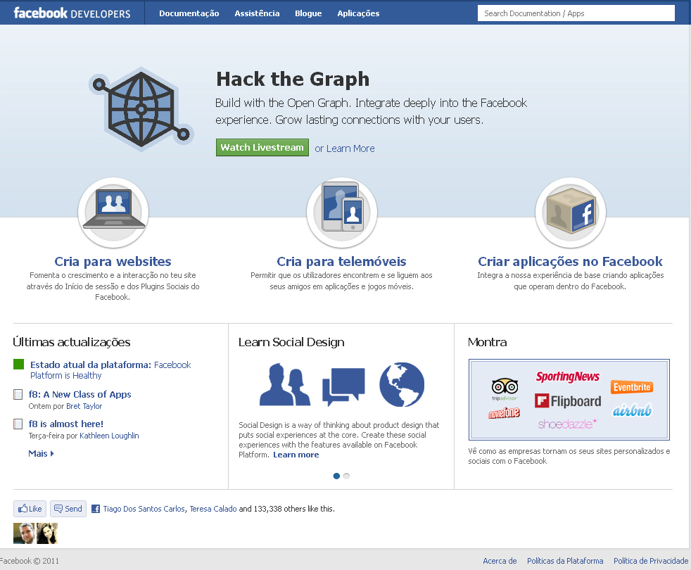 Novo perfil do Facebook: passos 2 e 3