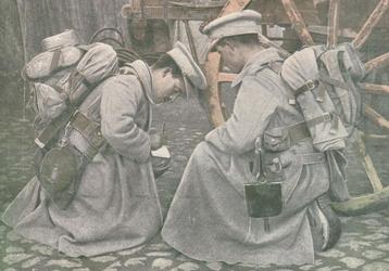 Cartas das trincheiras