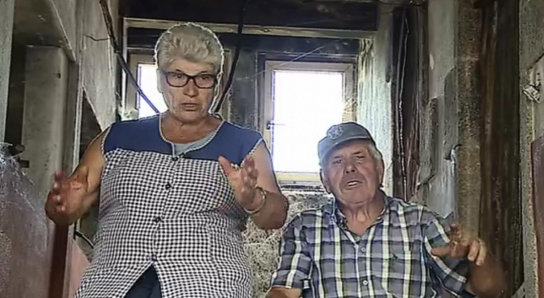Casal de reformados espera há um ano por obras após incêndios