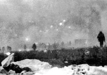 Guerra química em 1917